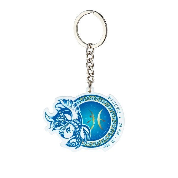 雙魚座鑰匙圈