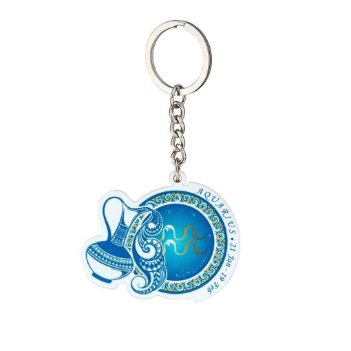 水瓶座鑰匙圈