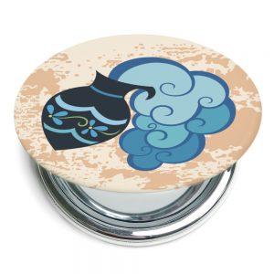 水瓶座折疊式鏡子