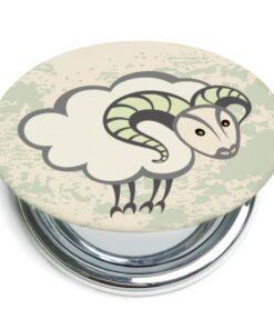 牡羊座折疊式鏡子