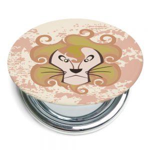 獅子座折疊式鏡子