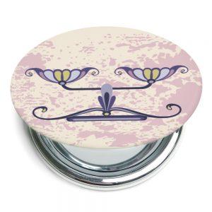 天秤座折疊式鏡子