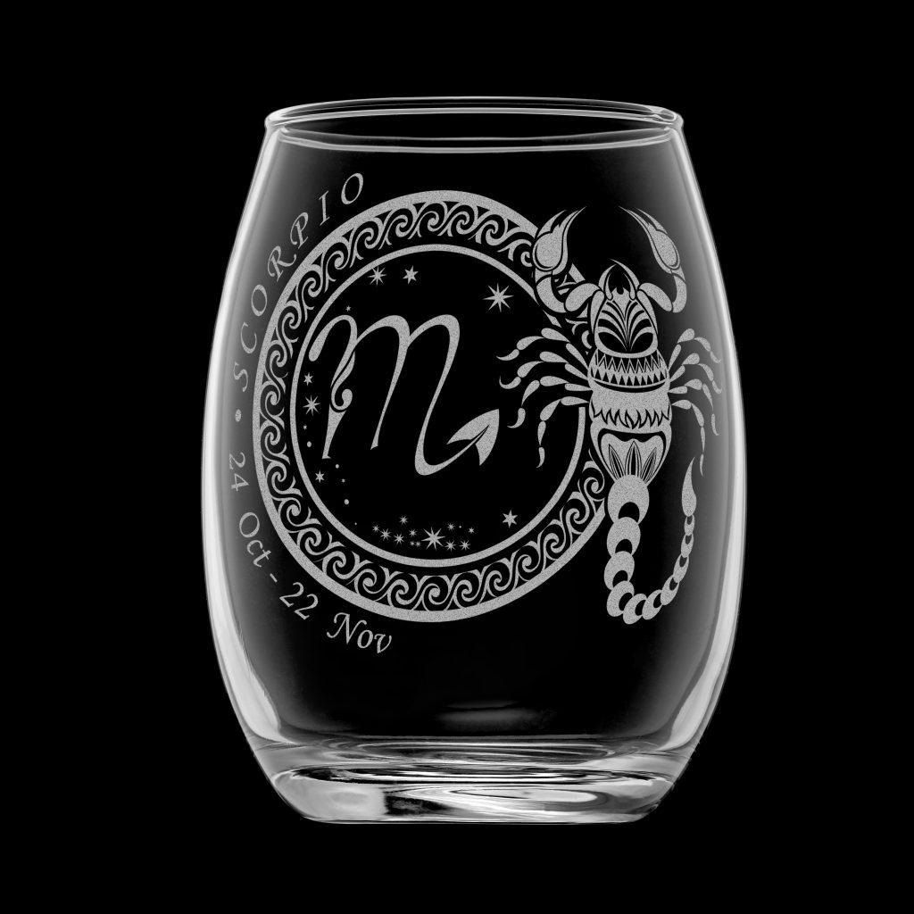 天蠍座酒杯