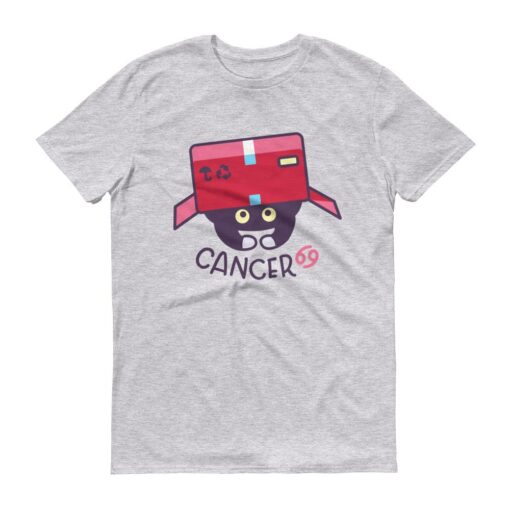 巨蟹座貓咪T-Shirt灰