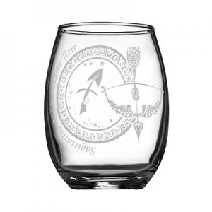 客製化印上名字星座酒杯 (射手座)