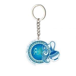 水瓶座客製化鑰匙圈