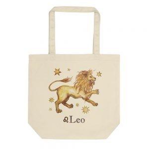 獅子座麻布提袋