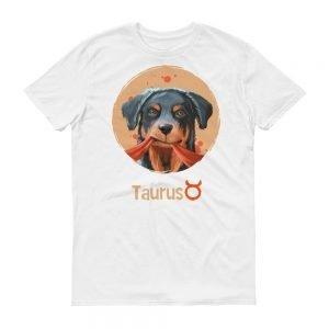 金牛座狗T-Shirt白